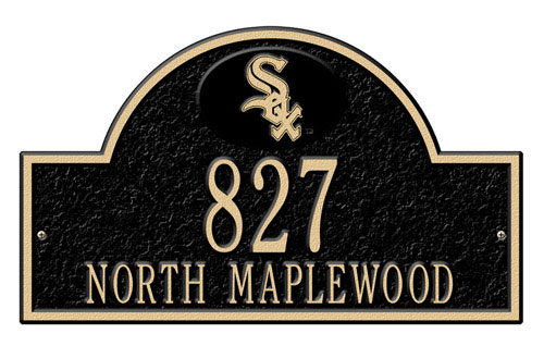 MLB Personalized Address Plaques