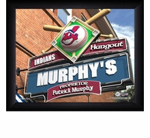 MLB Personalized Sports Pub Prints