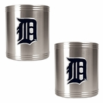 MLB Stainless Steel Can Holder 2-Piece Set