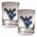 NCAA / College 2-Piece 14 Oz. Rocks Glass Set