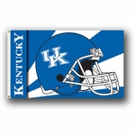 NCAA Helmet Flags - Premium 2 Sided College Flags