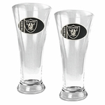 NFL 2-Piece Pilsner Glass Set