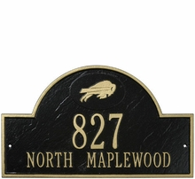 NFL Personalized Address Plaques