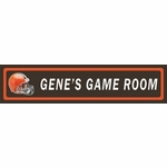 NFL Personalized Room Signs