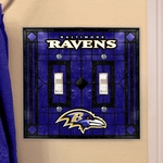 NFL Switch Plate Covers