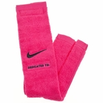 Nike Football Towel - Pink / Black