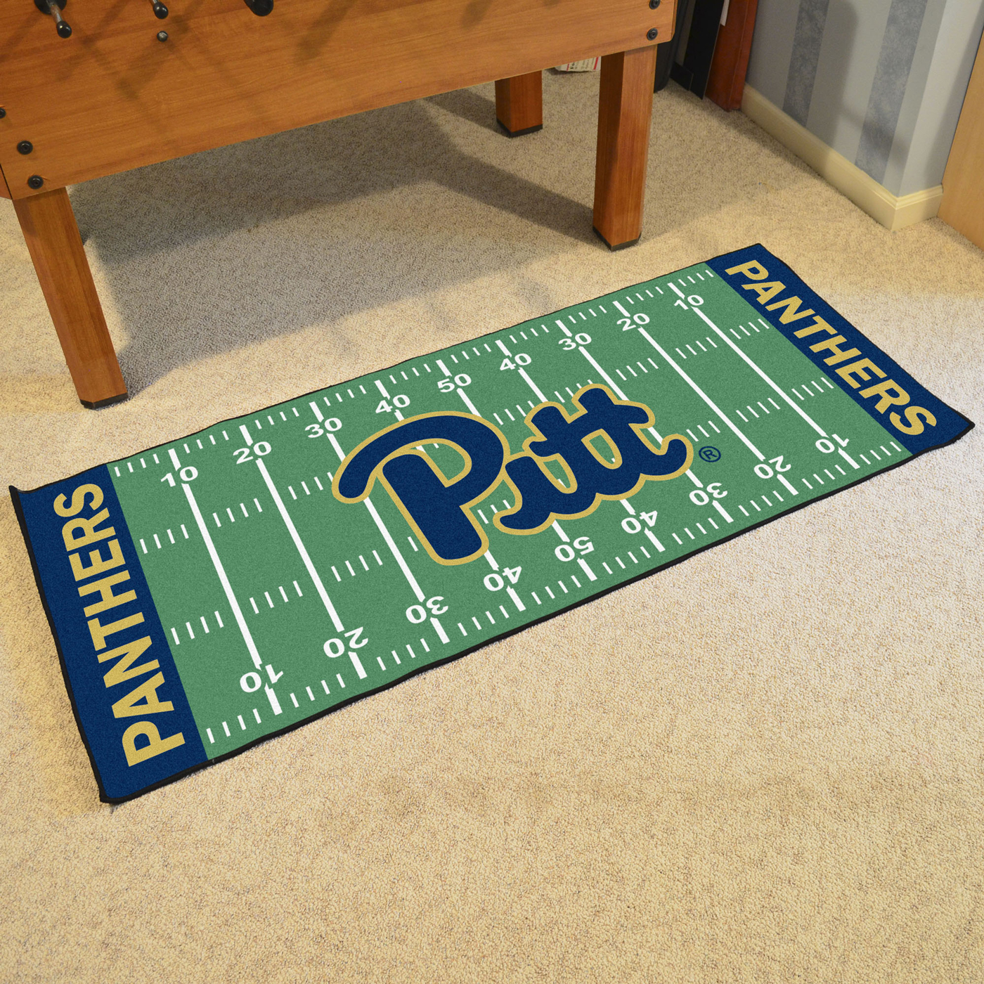 Pittsburgh Panthers Football Field Runner Rug