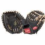 "Rawlings Heart of the Hide Dual Core 33"" Baseball Catcher's Mitt - Right Hand Throw"