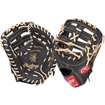 "Rawlings Heart of the Hide Dual Core Series 13"" Baseball First Base Mitt - Right Hand Throw"