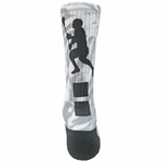 Red Lion #24 Men's Lacrosse Sublimated Crew Socks