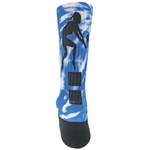 Red Lion #34 Women's Volleyball Crew Socks