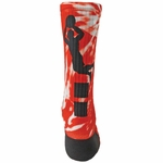 Red Lion Sublimated Basketball Alley Oop Crew Socks