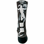 Red Lion Sublimated Basketball Slam Dunk Crew Socks