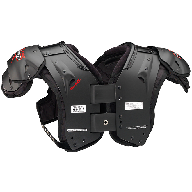 Bike Youth Shoulder Pads Riddell Power JPK JV Youth