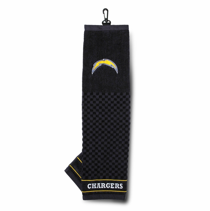 San Diego Chargers Embroidered Golf Towel