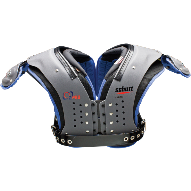 Schutt O2 Pro Adult Football Shoulder Pads - Lineman