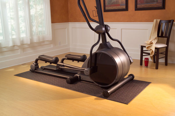 exercise machine floor mats