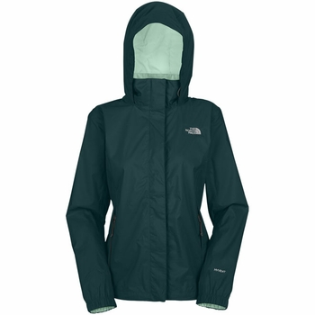 The North Face Custom Womens Resolve Rain Jacket  - Click to enlarge