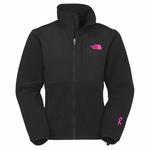 The North Face Womens Pink Ribbon Denali Fleece Jacket