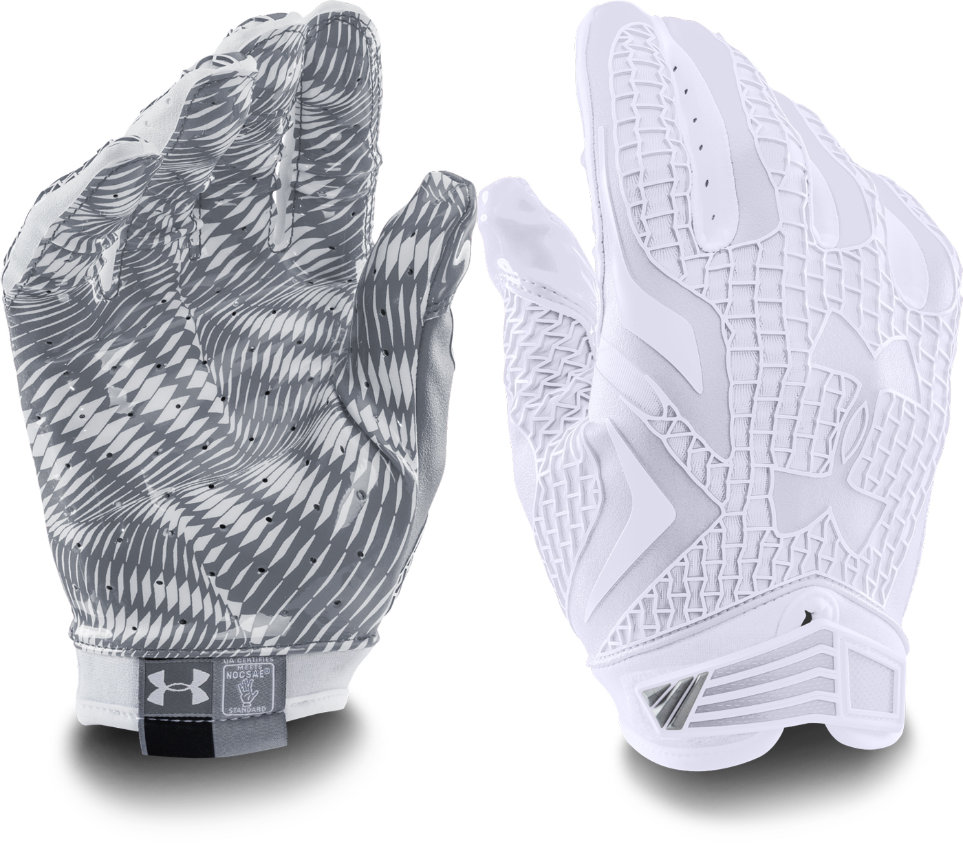 under armour swarm football gloves
