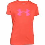 Under Armour Big Logo Tech Girls T-Shirt