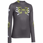 Under Armour Boy's Bone Cold ColdGear Mock Longsleeve