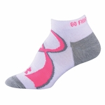 Under Armour HeatGear Power in Pink II Women's Socks - 2 Pair Pack
