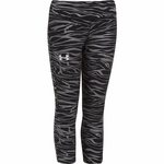 Under Armour HeatGear Sonic Girls' Printed Capris