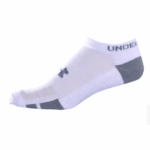 Under Armour HeatGear UA Resistor Men's Lo Cut Socks - 6 Pair Pack