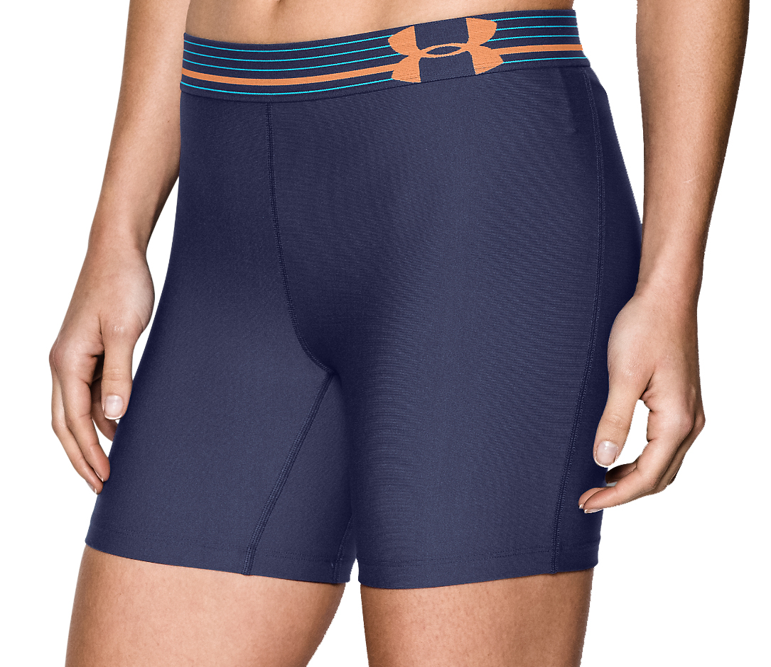 Awesome Under Armour HeatGear Armour Women39s Compression Shorts  SportsShoes
