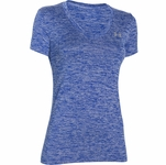 Under Armour HeatGear Women's Twisted Tech V-Neck T-Shirt