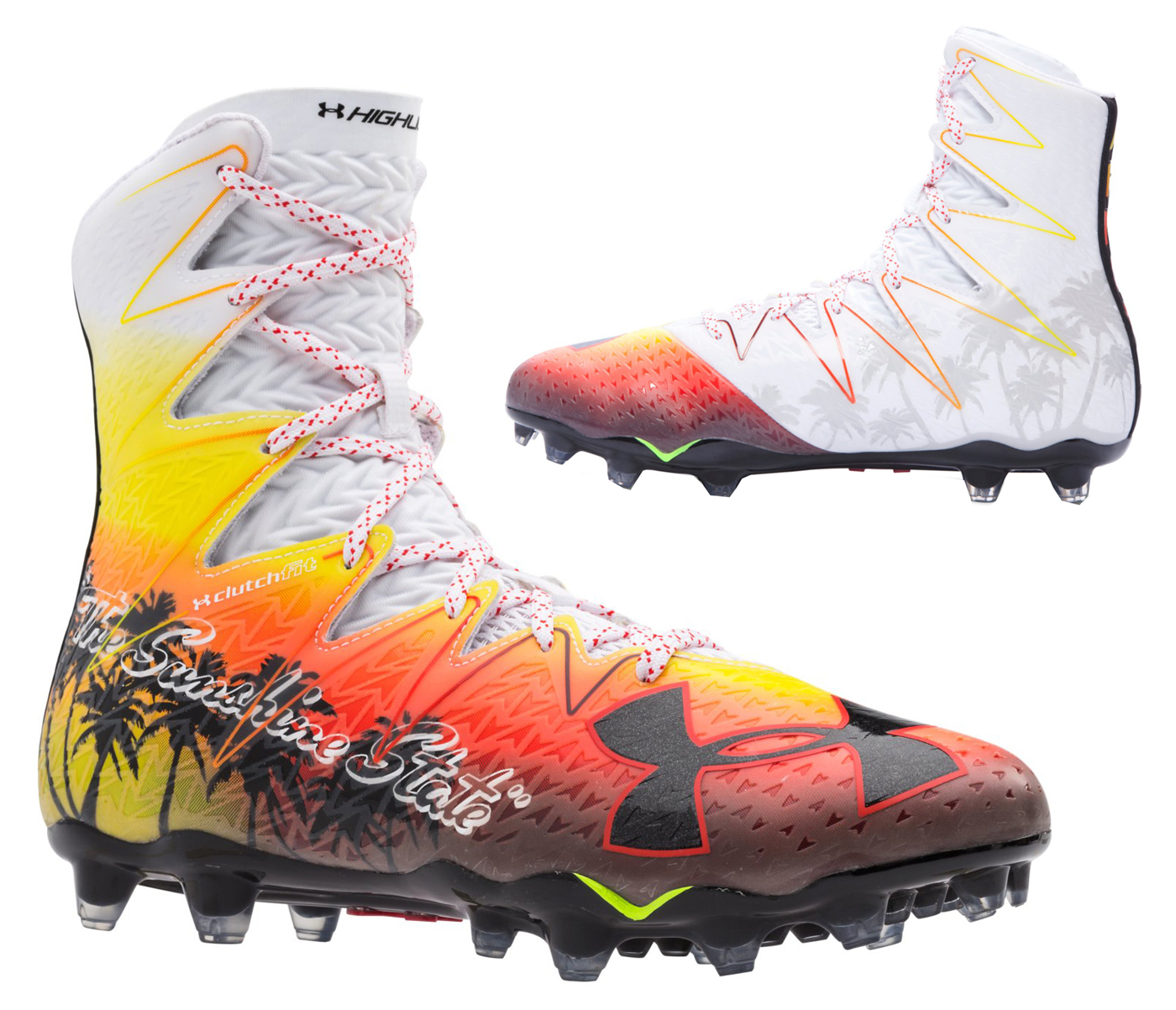 d7359e4c399 Cheap under armour highlight cleats black and gold Buy Online  OFF45 ...