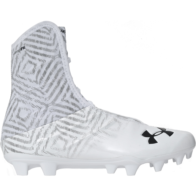 Under Armour Hi... Football Cleats White