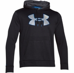Under Armour Men's Armour Fleece  Big Logo Twist Hoodie