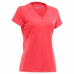 Under Armour Womens HeatGear V-Neck Tech Shortsleeve Tee Shirt