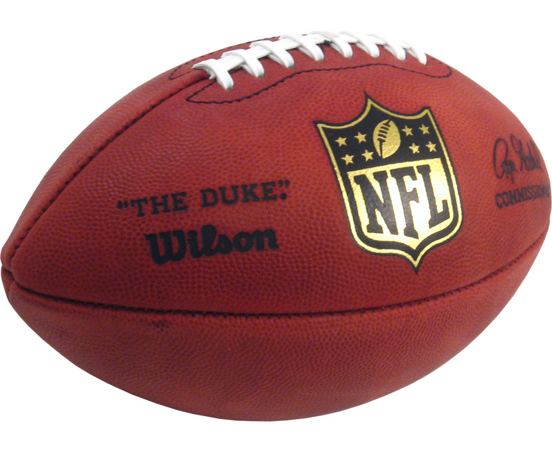 "Wilson ""The Duke"" Official Leather Game Football - Sports Unlimited"