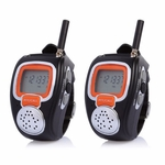 2-Way Radio Walkie Talkie Wrist Watch