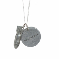 Article 22 Peace Is Bomb Necklace