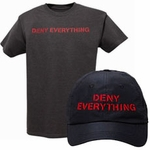 Deny Everything� Cap & Tee Set (Spy Museum Exclusive)