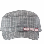 Deny Everything� Plaid Legion Cap (Spy Museum Exclusive