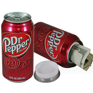 Dr Pepper Can Safe