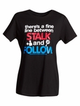 Facebook Stalk & Follow Tee - Junior (Spy Museum Exclusive)