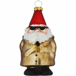 Glass Gnome Ornament