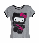 Hello Kitty Ninja Tee Ladies (International Spy Museum Store Exclusive)