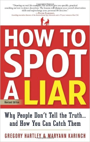 how to catch a liar book
