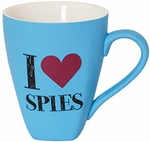 I Heart Spies Mug (Spy Museum Exclusive)