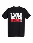 I Was Never Here Tee - Men's (Spy Museum Exclusive)
