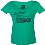 Oh Snap! Camera Tee (Spy Museum Exclusive)
