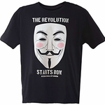 Revolution Mask Tee (Unisex - Spy Museum Exclusive)