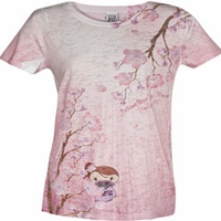 Sneaky Cherry Blossom Tee (Spy Museum Exclusive)